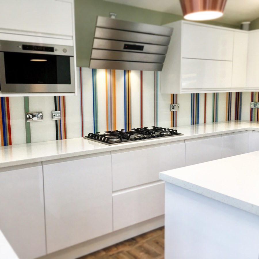 Kitchen Gallery Solihull: Coloured Glass Splashbacks By Glass Replacements Coventry