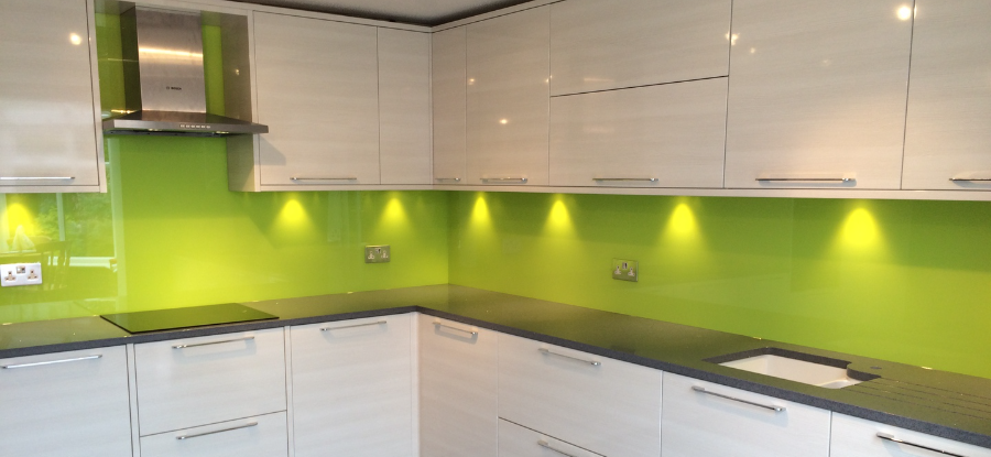 Coloured Glass Splashbacks By Glass Replacements Coventry